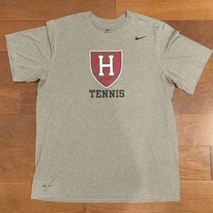 Harvard Tennis Nike Dri-Fit T